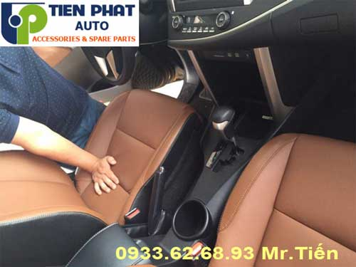 may ghe da cho Toyota Innova 2009 uy tin