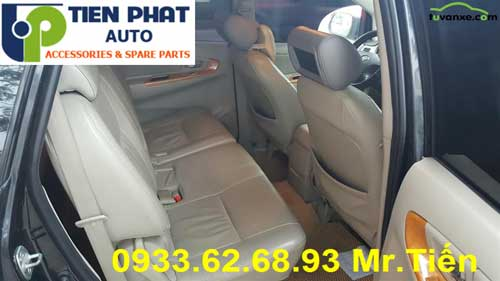 may ghe xe Toyota Fortuner 2012 tan noi gia re