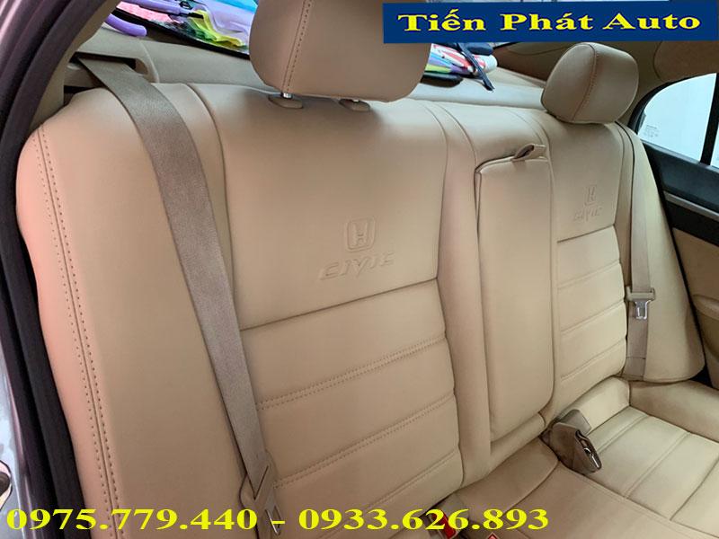 Bọc Ghế Da Cho Honda Civic Giá Rẻ Uy Tín Tại TPHCM