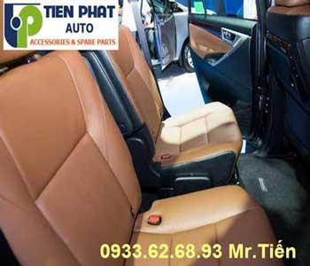 Chuyên: May Ghế Cho Toyota Innova 2006-2007 Giá Rẻ Tại Tp.Hcm