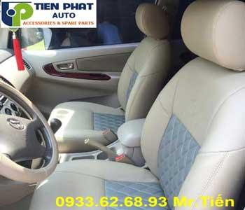 Chuyên: May Ghế Cho Toyota Innova 2008-2009 Giá Rẻ Tại Tp.Hcm