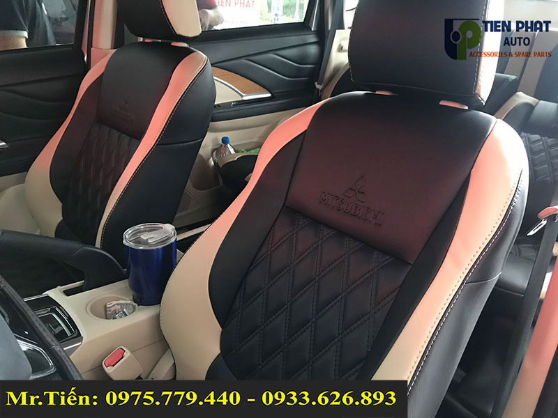 Độ Ngả Ghế 45 Độ Kèm Bọc Ghế Da Cao Cấp Cho Mitsubishi Xpander Tại TP.HCM