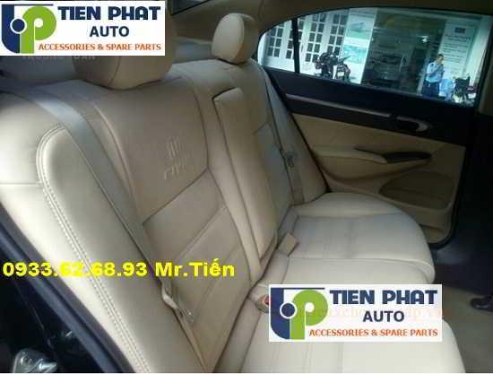 May Ghế Da Cho Honda Civic Uy Tín Nhanh Tại Quận Tân Bình