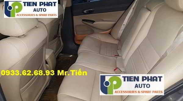 May Ghế Da Cho Honda Civic Uy Tín Nhanh