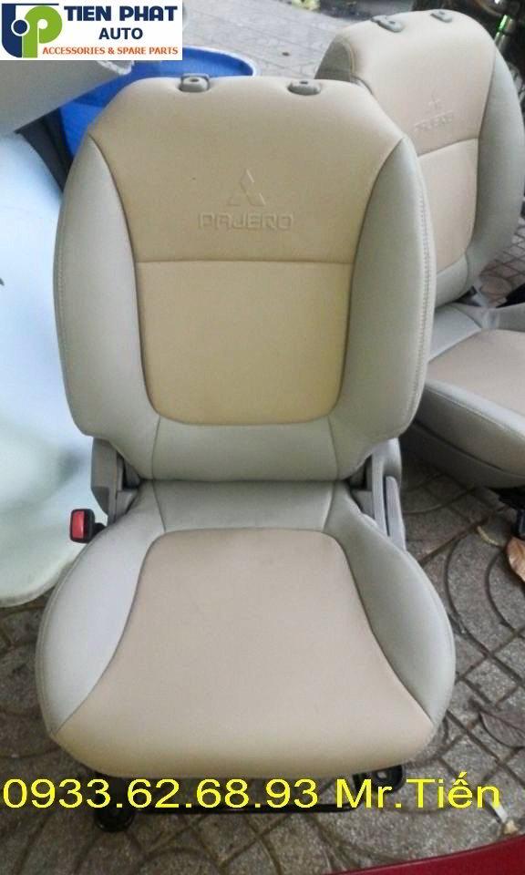 May Ghế Da Cho Mitsubishi Pajero Sport Uy Tín Nhanh Tại Quận Tân Binh
