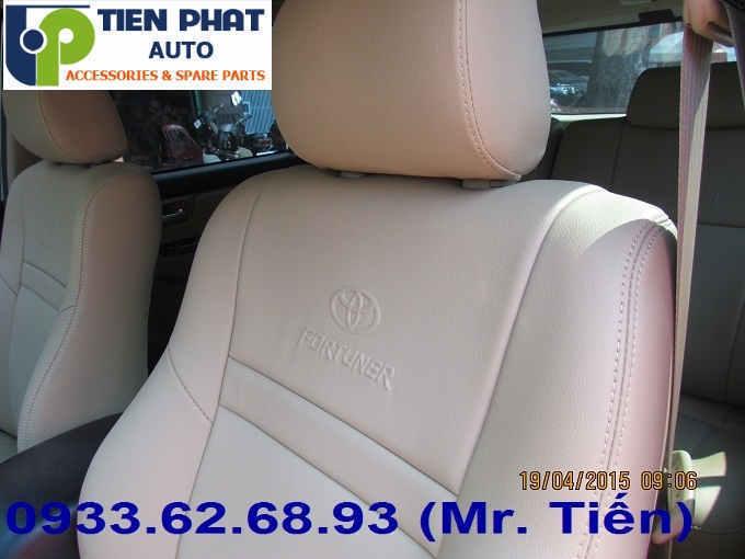 May Ghế Da Cho Toyota Fortuner Uy Tín Nhanh Tại Huyện Củ Chi