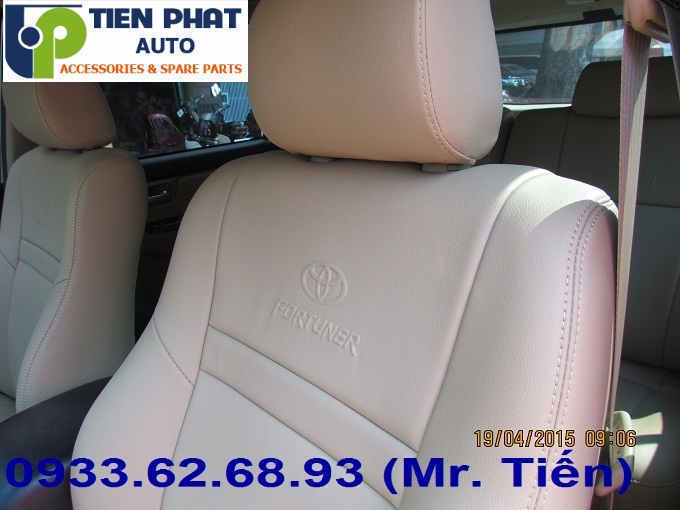 May Ghế Da Cho Toyota Fortuner Uy Tín Nhanh Tại Quận 9