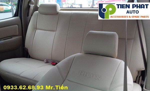 May Ghế Da Cho Toyota Hilux Uy Tín Nhanh Tại Huyện Hóc Môn