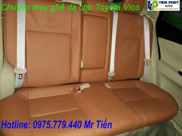 May Ghế Da Cho Toyota Vios 2018-2019 Giá Rẻ Tại Tp.HCM