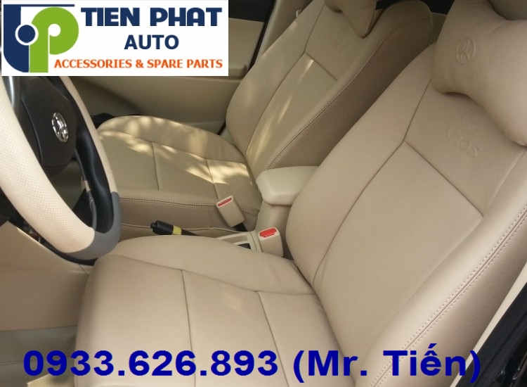 May Ghế Da Cho Toyota Vios Uy Tín Nhanh Tại Quận 8