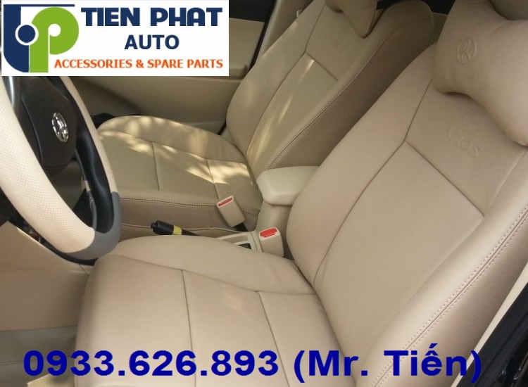 May Ghế Da Cho Toyota Vios Uy Tín Nhanh Tại Quận Tân Phú