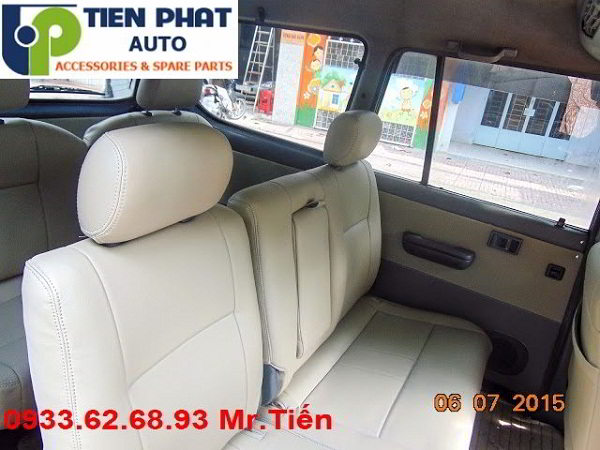 May Ghế Da Cho Toyota Zace Uy Tín Nhanh Tại Quận Tân Bình