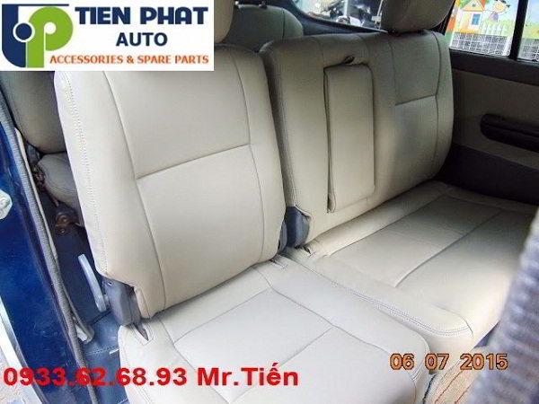 May Ghế Da Cho Toyota Zace Uy Tín Nhanh Tại Tp.Hcm