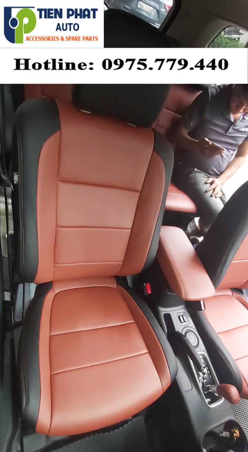 Mitsubishi Outlander Lên Bộ Ghế Da Cao Cấp Tại Tiến Phát Auto